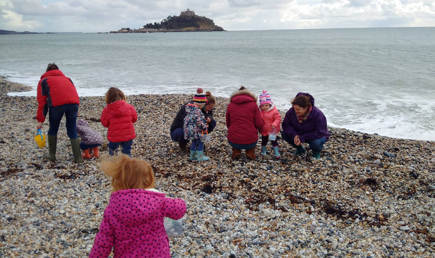 Numbers Nursery at Marazion Beach